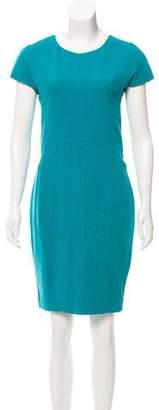 Narciso Rodriguez Short Sleeve Mini Dress