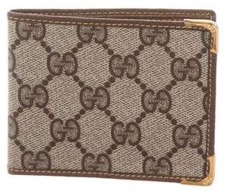 Gucci Vintage GG Plus Bifold Wallet