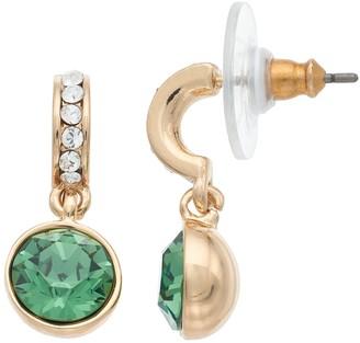 Dana Buchman Round Drop C-Hoop Earrings