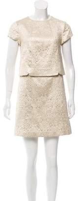 Tory Burch Brocade Mini Dress