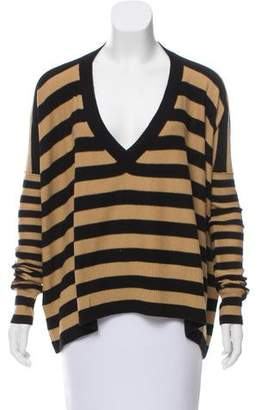 Sonia Rykiel Striped Cashmere Sweater