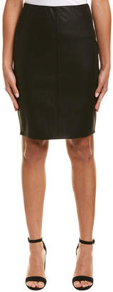 Duffy Zippered Pencil Skirt