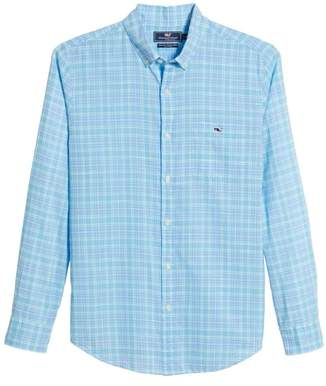 Vineyard Vines Stoney Hill Tucker Classic Fit Plaid Sport Shirt
