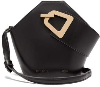 Danse Lente Johnny Mini Leather Bucket Bag - Womens - Black