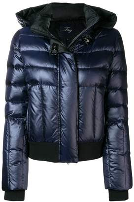 Fay metallic puffer jacket