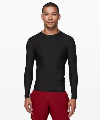 Lululemon Final Wave Rash Guard