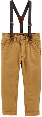 Osh Kosh Oshkosh Bgosh Toddler Boy Suspender Pants