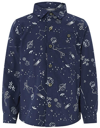 Monsoon Samuel Saturn Print Shirt