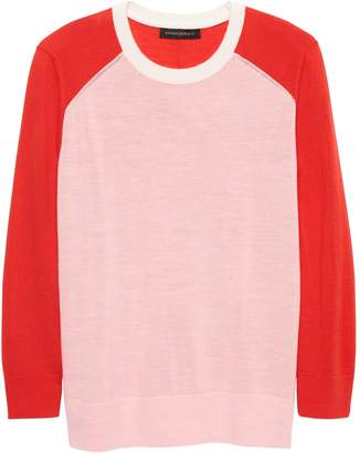 Banana Republic Washable Merino Raglan Sweater