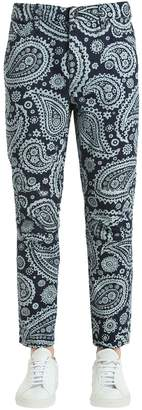 Elwood Indian Paisley Print Denim Jeans