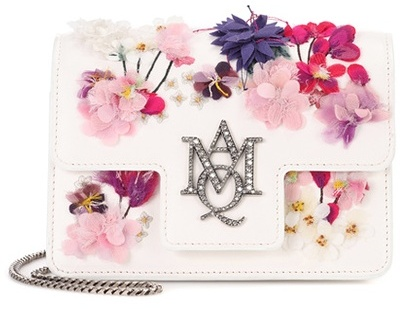 Alexander McQueen Alexander McQueen Embellished leather shoulder bag