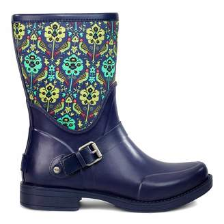 Navy/Print Sivada Liberty Short Wellie