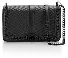 Rebecca Minkoff Love Crossbody With Chain
