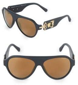 Versace 58MM Round Sunglasses