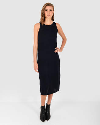 Forcast Cherie Sleeveless Knit Dress