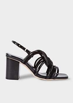 Paul Smith Women's Black Suede 'Carla' Sandals