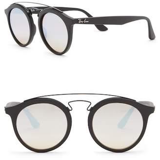 Ray-Ban Highstreet 46mm Browbar Sunglasses