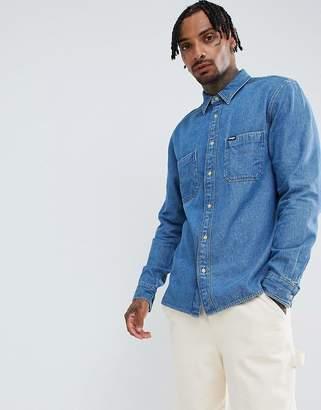Wrangler oversized denim shirt