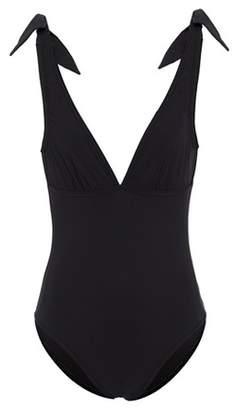 Karla Colletto Barcelona V-neck swimsuit