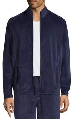 Van Heusen Mens Knit Pajama Top Long Sleeve