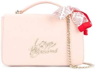 Love Moschino bandana-detail satchel