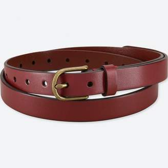 Uniqlo WOMEN Vintage Skinny Belt