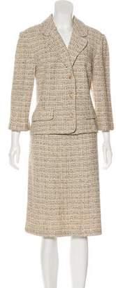 St. John Tweed Skirt Suit