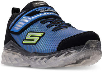 Skechers Little Boys' S Lights: Flex-Charge - Ronex Light-Up Running Sneakers from Finish Line
