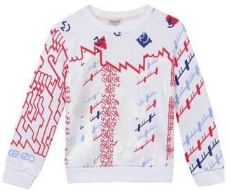 Kenzo 3-6Y Barbapapa Abstract Sweater