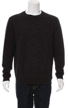 Saint Laurent 2014 Textured Crewneck Sweater