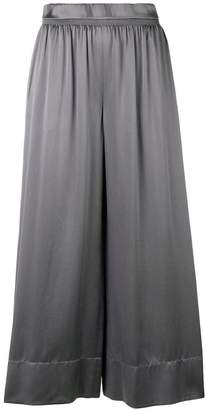 Theory cropped palazzo trousers