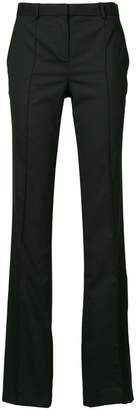 Versace tailored flare trousers