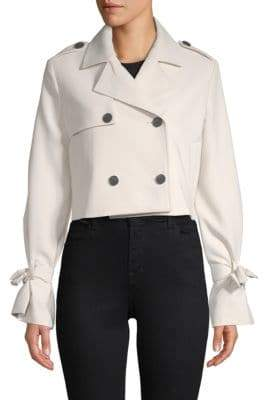 Endless Rose Cropped Double-Breasted Jacket