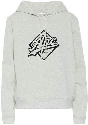 A.P.C. Joan cotton-blend hoodie