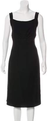 Armani Collezioni Sleeveless Crepe Dress w/ Tags