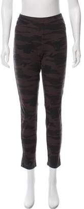 Sanctuary Mid-Rise Camouflage Leggings