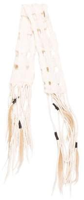 Scarf Taiana Design Merino Wool & Ponyhair Scarf