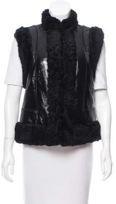 Christian Dior 2017 Shearling Vest
