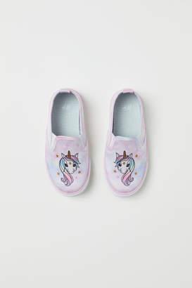 H&M Slip-on Shoes - Purple