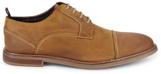 Ben Sherman Cap-Toe Leather Derbys