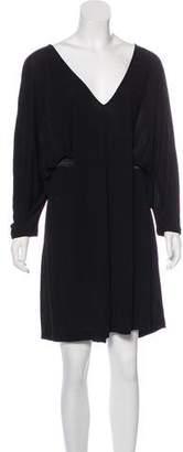 Alexander McQueen Knee-Length Dolman Sleeve Dress