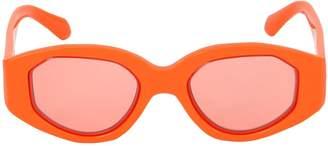 Karen Walker Castaway Tangerine Sunglasses