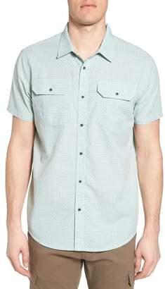 Prana Blakely Slim Fit Short Sleeve Sport Shirt