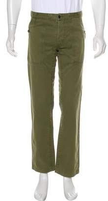 Dolce & Gabbana Flat Front Twill Pants