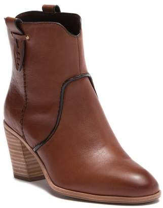 G.H. Bass and Co. Sophia Leather Western Bootie