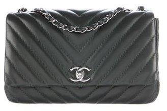 Chanel Chevron Classic Medium Classic Single Flap Bag $2,900 thestylecure.com