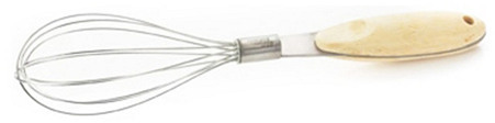 S/2 Whisks w/ Bamboo Handles