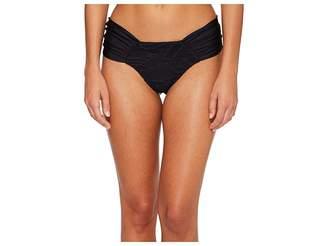Luli Fama El Carnaval Scrunch Brazilian Ruched Back Bikini Bottom Women's Swimwear