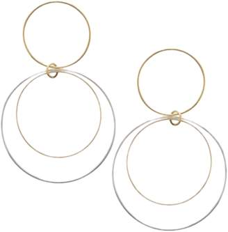 Lana Open Circle Hoops