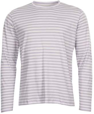 Norse Projects Long Sleeve T Shirt - Lilac Heather Stripe